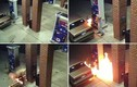 Nghịch dại: Dùng bật lửa đốt nhện, gây cháy cả trạm xăng