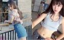Nữ sinh 9X eo thon, dáng đẹp mặt giống sao nổi tiếng