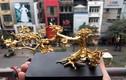Mê mẩn ngắm hoa đúc vàng siêu đắt đỏ phục vụ đại gia Việt
