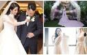 Đọ váy cưới siêu đắt đỏ của mỹ nhân Việt