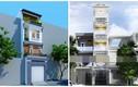 10 mẫu nhà phố mặt tiền hơn 2m đẹp từng centimet