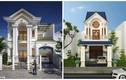 10 mẫu nhà phố 2 tầng kiểu Pháp đẹp đẳng cấp