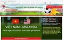 VFF lên tiếng cảnh báo trang web bán vé bóng đá online giả