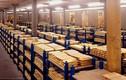 Hai kho vàng nghìn tấn cho khách tham quan thoải mái