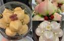 Bánh bao đào tiên đủ màu sắc hút khách mua cúng rằm tháng Giêng