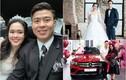 """3 cô vợ giàu có, xuất thân""""cành vàng lá ngọc"""" của cầu thủ Việt"""