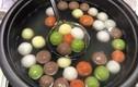 Gần Tết Hàn thực, bánh trôi ngũ sắc bán online hút khách, tiểu thương hốt bạc