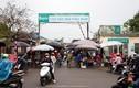 Chợ đầu mối đông nghịt người dân trong ngày thứ 12 thực hiện cách ly xã hội
