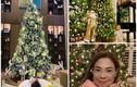 Mãn nhãn xem nhà sao Việt trang trí Noel ngập sắc màu