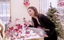 Biệt thự 40 tỷ của Ngọc Trinh lộng lẫy mùa Giáng sinh