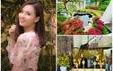 Biệt thự ven hồ ngập sắc hoa đón Tết của Lã Thanh Huyền