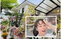 Lóa mắt biệt thự 20 tỷ ngập hoa từ ngõ của Nhật Kim Anh