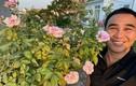 Khu vườn hàng trăm gốc hồng ngoại trong biệt thự của MC Quyền Linh