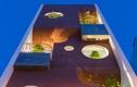 Mặt tiền bằng gạch nung ấn tượng, nhà Đà Nẵng lên báo Mỹ