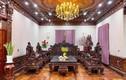Bên trong biệt thự dát toàn gỗ quý của đại gia Kinh Bắc