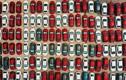 Hàng trăm ôtô mới cứng phơi nắng hơn 30 ngày giãn cách ở Hà Nội