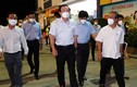 Bí thư TP HCM thị sát chợ đầu mối Bình Điền
