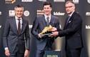 Lewandowski nhận danh hiệu Chiếc giày Vàng châu Âu