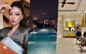 Căn biệt thự đẹp mê ly với bể bơi lấp lánh của BTV Ngọc Trinh