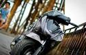 Honda SH Việt mạ crom đen bí ẩn ở Hà Nội