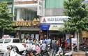 Công an phong tỏa hiện trường vụ cướp ngân hàng Việt Á
