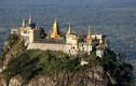 Sững sờ tu viện vàng trên núi dựng đứng độc nhất TG