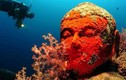Bí ẩn ngôi đền dưới đáy biển và những tượng phật khổng lồ