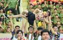 Ảnh: Nữ công an tương lai xinh đẹp nhảy dân vũ sôi động