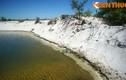 Độc đáo xứ sở cát trắng như tuyết ở Việt Nam