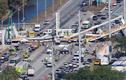 Video: Sập cầu đi bộ nặng gần 1.000 tấn, hàng loạt người chết