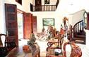 Soi ngôi nhà 1000 m2 toàn gỗ của diễn viên Thùy Dương