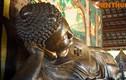 Ảnh: Tượng Phật nhập Niết bàn bằng đồng lớn nhất VN