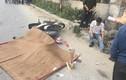 Bị xe container cán qua người, 2 vợ chồng đi xe máy thương vong
