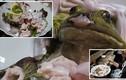 Món sashimi ếch sống chỉ nhìn thôi cũng nổi gai ốc