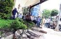 Ảnh: Bồn hoa lấn vỉa hè của khách sạn 5 sao Majestic bị đập bỏ