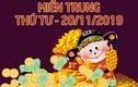 XSMT 20/11 - Trực tiếp xổ số miền Trung thứ 4 hôm nay 20/11/2019