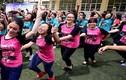 Học sinh Hà Nội nhảy múa nồng nhiệt chia tay tuổi học trò
