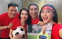 """Video: 50 hoa hậu, MC, ca sĩ… hát """"Tôi yêu bóng đá"""" tặng U23 Việt Nam"""
