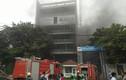 Cháy lớn ở công trình Bệnh viện Việt Pháp, hàng trăm công nhân tháo chạy