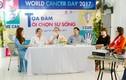 """Lựa chọn sự sống hưởng ứng ngày """"Thế giới phòng chống ung thư"""""""