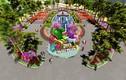 Ngắm 7 kỳ quan thế giới bằng hoa tươi tại Sun World Halong Complex
