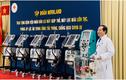 Novaland tặng BV Nhân dân 115 thiết bị y tế trị giá 10 tỷ