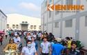 Hàng ngàn công nhân công ty SUNGJIN INC VINA đình công