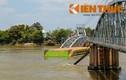 Vụ sà lan tông sập cầu Ghềnh: Đã xác định được vị trí dầm cầu bị sập