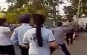 Nữ công nhân bị nam thanh niên chém xối xả trước cổng công ty