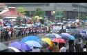 Biển người Singapore đội mưa nghẹn ngào tiễn đưa ông Lý Quang Diệu