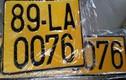 Từ 1/8: Ôtô kinh doanh vận tải dùng biển số màu vàng, chữ đen