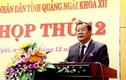 Người điều hành Quảng Ngãi thay Chủ tịch tỉnh xin từ chức là ai?