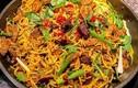 Bún lòng xào nghệ và loạt đặc sản Việt bổ dưỡng