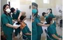 """Nữ bác sĩ bệnh viện Đà Nẵng cắt tóc """"quyết chiến"""" COVID-19 gây xúc động"""